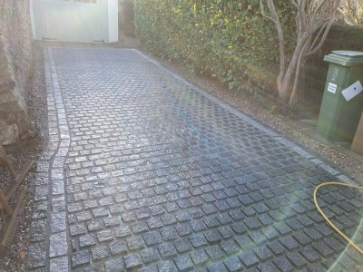 Paving Laid on Driveway In Letchworth